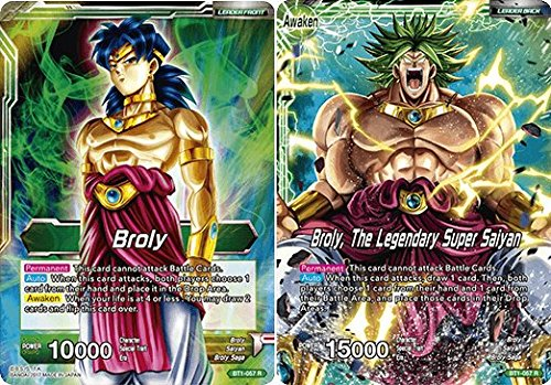 Dragon Ball Super TCG - Broly // Broly, The Legendary Super Saiyan - Series 1 Booster Galactic Battle - (Series 1 Booster: Galactic Battle) - BT1-057