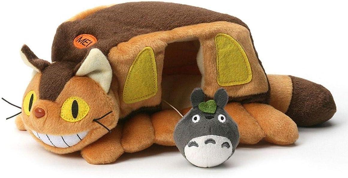 Catbus and Gray Totoro Plush My Neighbor Totoro, Sun Arrow Plush
