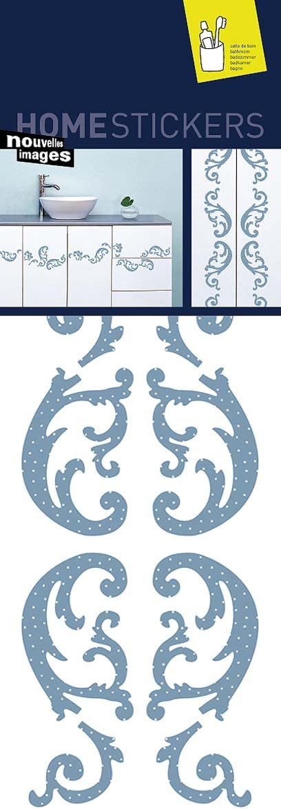 Home Stickers Barok Volutes Decorative Wall Stickers