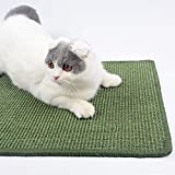 Xhonp Natural Sisal Cat Scratching Mat Cat Sleeping Pad Kitty Grinding Claws & Protecting Furnitures