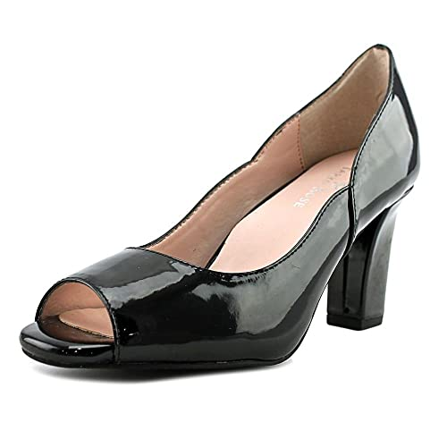 f877c8f09588a Amazon.com  Taryn Rose Womens Francis Peep Toe Classic Pumps  Shoes