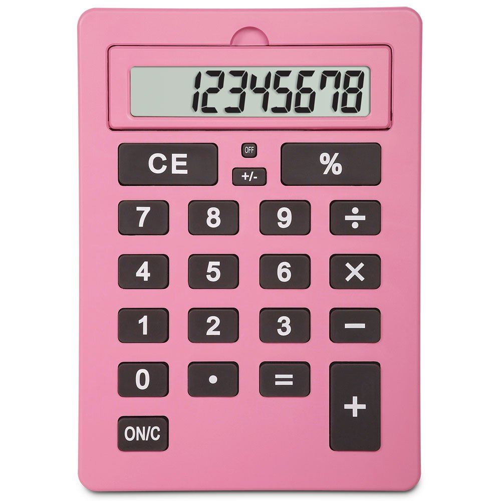 Lila 11 Inch Giant Pink Calculator Best Chess Set 810970015320