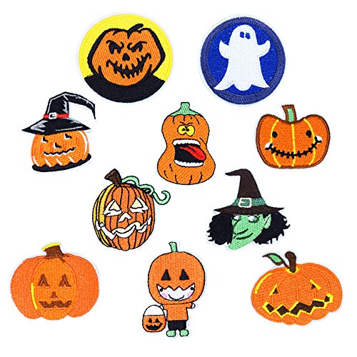 QTL Halloween Embroidery Patch Costume Badge for DIY Cosplay(10PCS/Set) (Diy Halloween Fails)