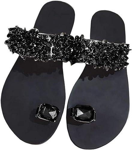 Details about  /New Women/'s Bling Rhinestone Embellished Slides Jelly Sandal Flip Flops Open Toe