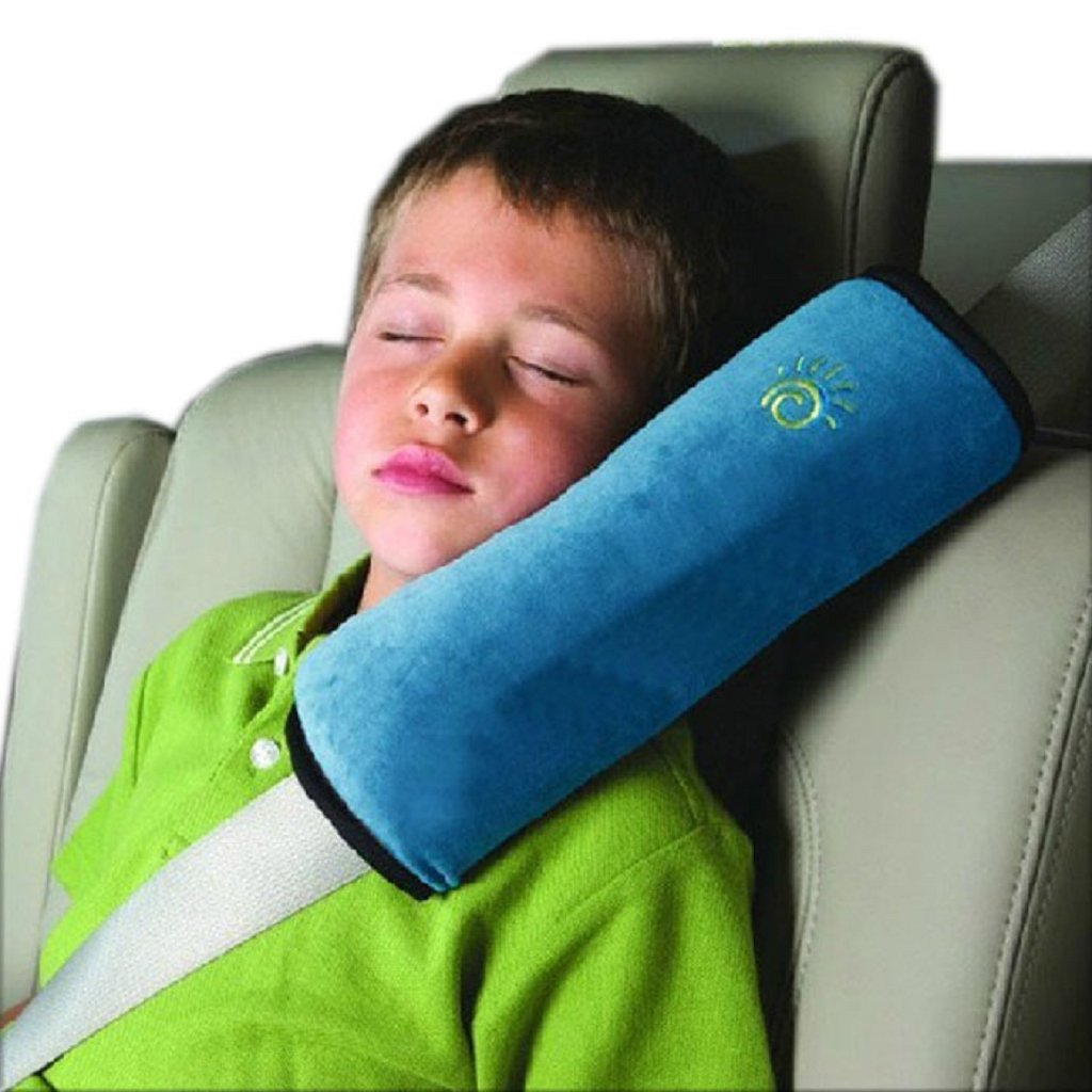 Kids Boys Girls Children Safety Strap Car Seat Belts Pillow Shoulder Protection by FEITONG FEITONG666