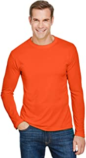 product image for Bayside Apparel Unisex Performance Long-Sleeve T-Shirt (BA5360)