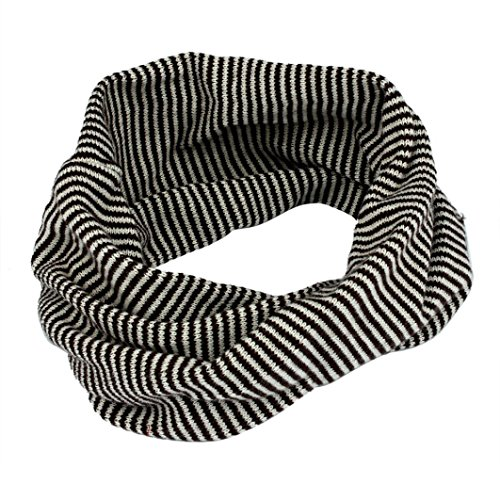 TAORE Knit Woolen Baby Scarf Neck Winter Warmer Neckerchief (Gray)