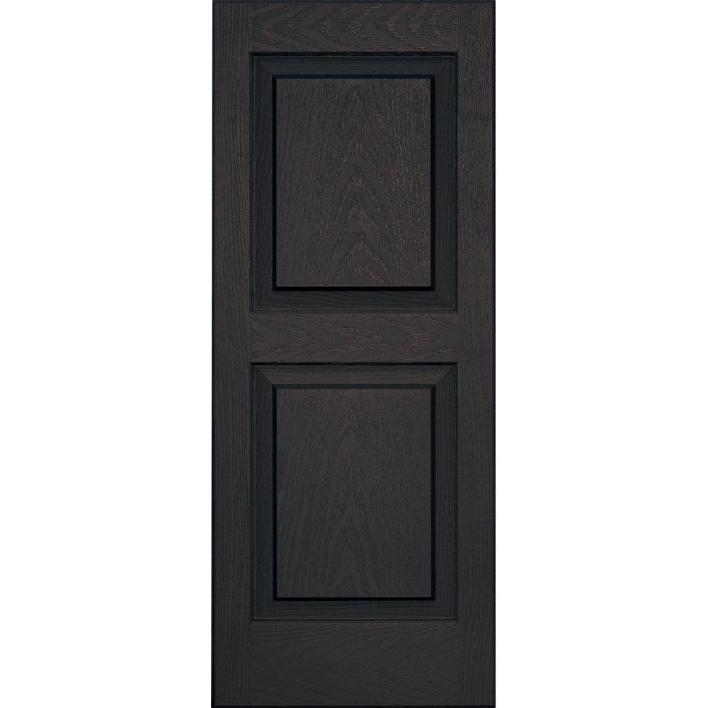 Vantage 3114035046 14X35 Raised Panel Shutter/Pair 046, Chocolate Brown The TAPCO Group - DROPSHIP