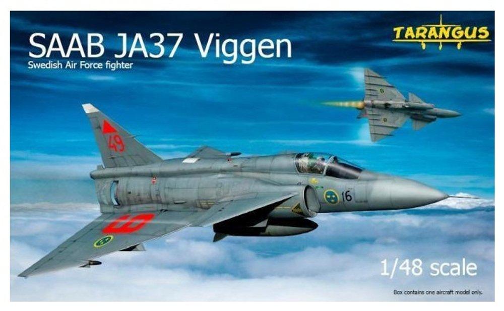 タラングス 1/48 スウェーデン空軍 サーブ JA 37 ビゲン プラモデル TGS4803 B00T77GSSA