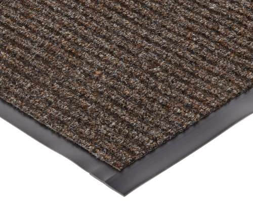 Four 3' Casters (NoTrax 109S0034BR  Brush Step Entrance Mat, for Lobbies and Indoor Entranceways, 3' Width x 4' Length x 3/8