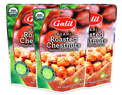 Galil Organic Roasted Chestnuts 3 5 oz