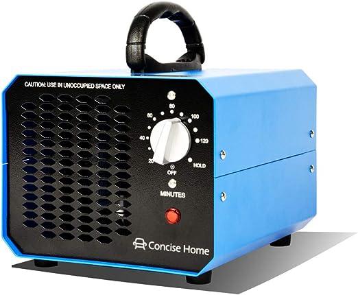 Concise Home 10000 MG generador de ozono Comercial Fuerza Industrial O3 purificador de Aire desodorizante esterilizador: Amazon.es: Hogar