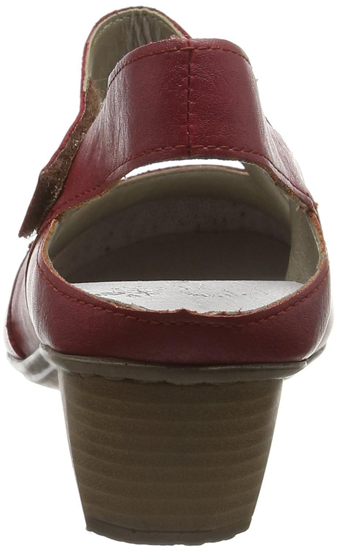 Rieker 41779 Women Sling Back, Damen Slingback Pumps, Rot (rosso/rosso/33), 37 EU