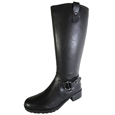 a07bfed2487 Amazon.com | Nine West Womens Wasee Knee High Riding Boot Shoe ...