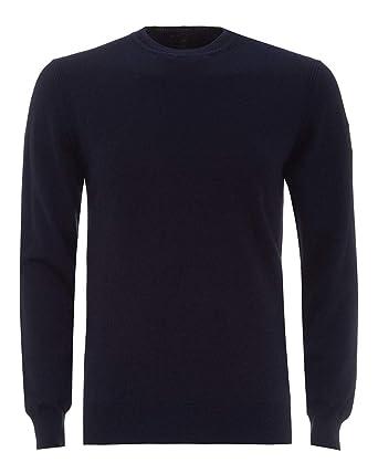 f0ea4aae608c Belstaff Mens Moss Knitted Jumper  Amazon.co.uk  Clothing