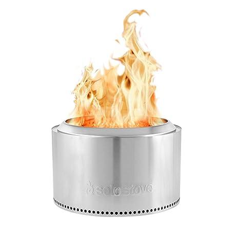 Amazon.com: Solo estufa Yukon Fire Pit: más grande de 30.0 ...