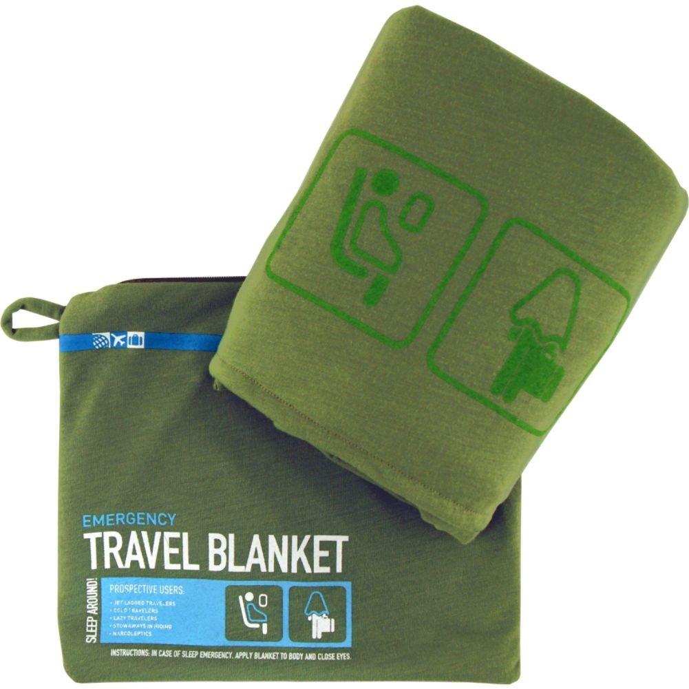 FLIGHT001 Emergency Travel Blanket - Green FLI21606
