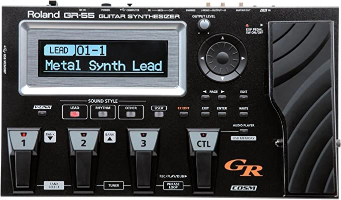 Roland GR-55 GK - Sintonización para modelar guitarra, color negro: Amazon.es: Instrumentos musicales