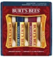 Burt's Bees Beeswax Bounty Holiday Gift Set, 4 Lip Balms in Gift Box, Assorted Flavors