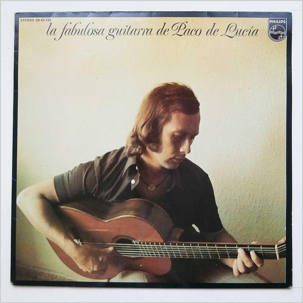 La Fabulosa Guitarra De Paco De Lucia : Paco De Lucia: Amazon.es ...