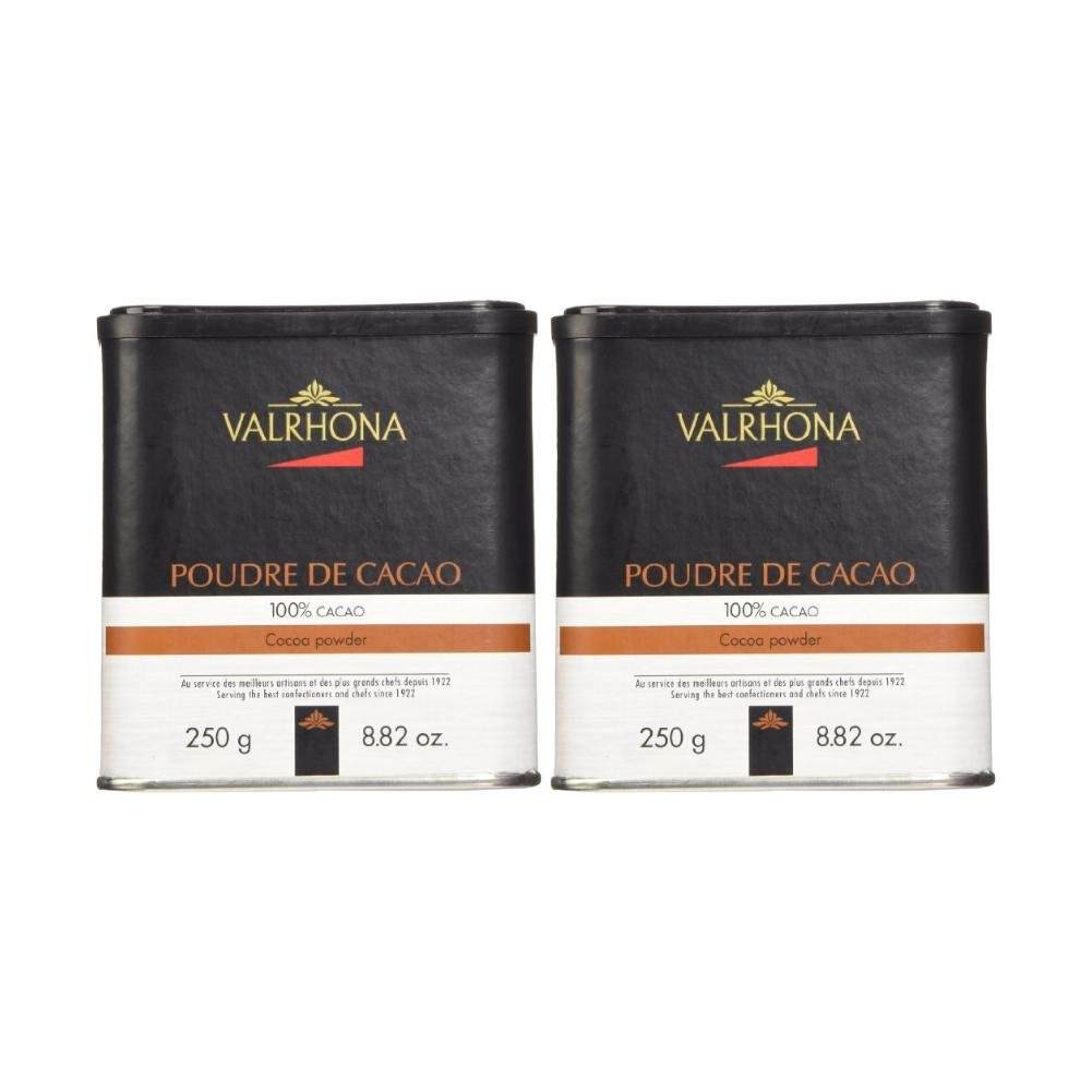 Valrhona Pure Cocoa Powder 88 Oz Baking Delfi Hot Mix 125 Gr Grocery Gourmet Food