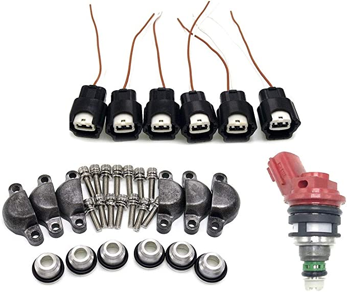 Phase 2 Adapter kit VG30DE VG30DETT For Nissan 300ZX Turbo z32 Fuel Injectors