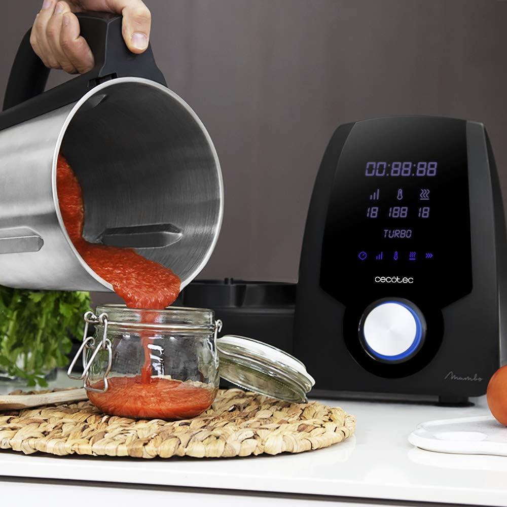 Cecotec Robot de Cocina Multifunción Mambo 6090 Black. Capacidad ...