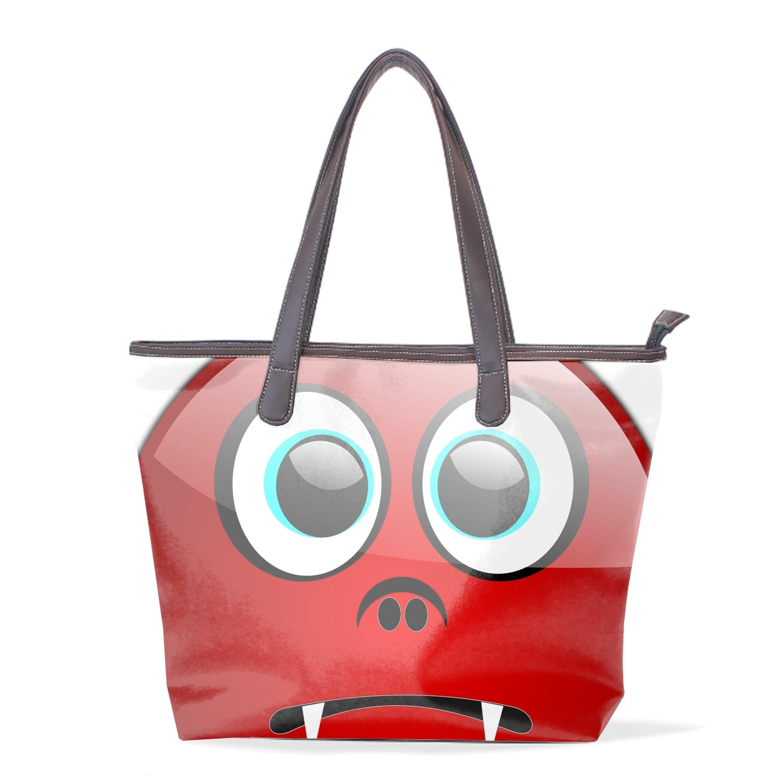 Women Tote Bag Neon Splash Shoulder Bag Lightweight Microfiber Briefcase