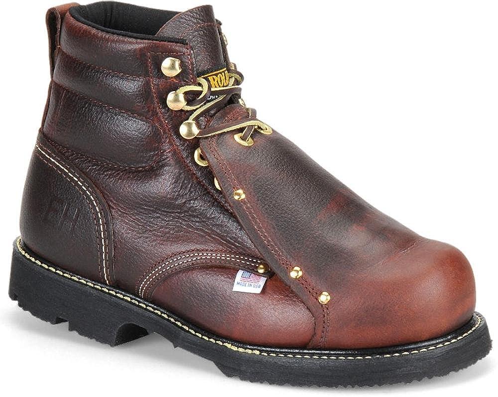 Carolina 508 6In Broad Toe Metatarsal Guard Boot USA Made