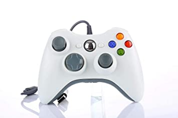 JAMSWALL Controlador de Gamepad para Xbox 360, Mando para PC Windows XP/7/