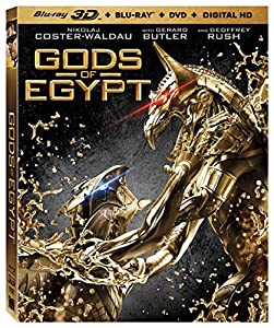 Cover Image for 'Gods Of Egypt [Bluray 3D + Bluray + DVD + Digital HD]'