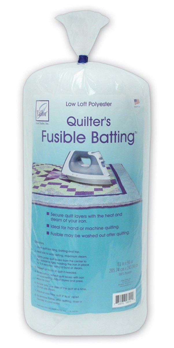 June Tailor Quilt Low Loft Fusible Batting, 36 x 45-Inch/Craft JT-830