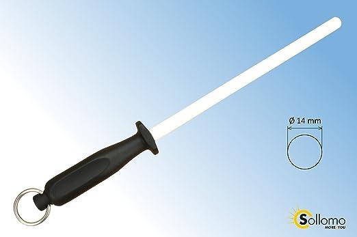 Compra Afilador de cuchillos afilador de cerámica blanco en ...