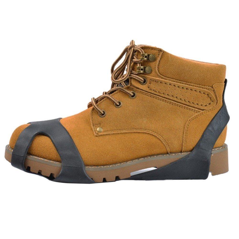 Crampon Chaussure Anti Glisse Anti Verglas Caoutchouc Semelle Antid/érapant Unisexe Crampon /à Glace S//M//L//X-L EU-SPA-062
