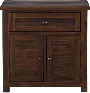 Accent Cabinet In Urban Lodge Brown Finish