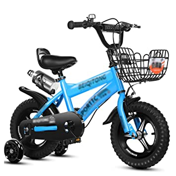 JianMeiHome Bicicleta para niños Bicicleta para niños de 2 a 12 años Bicicleta 12/14