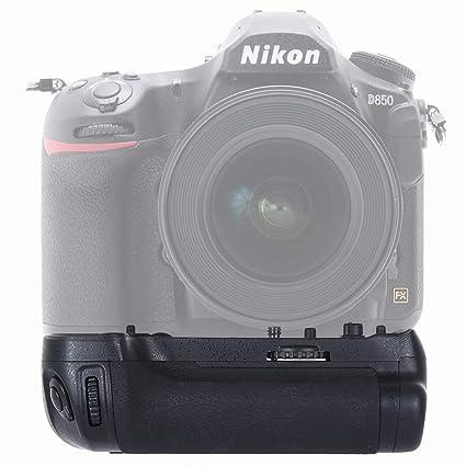 PULUZ - Empuñadura de batería para cámara réflex Digital Nikon ...