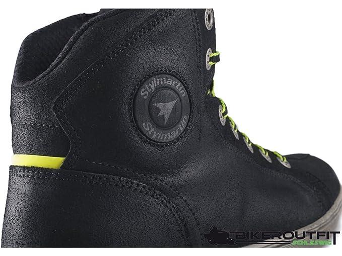 e3700d6957 STYL Martin Motorcycle Sneaker Seattle Evo Black  Amazon.co.uk  Car    Motorbike