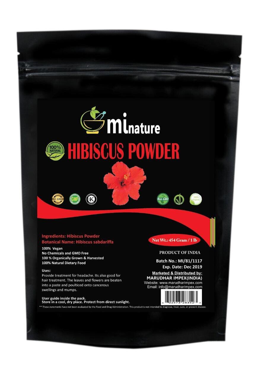 Amazon Mi Nature Usda Certified Organic Hibiscus Powder
