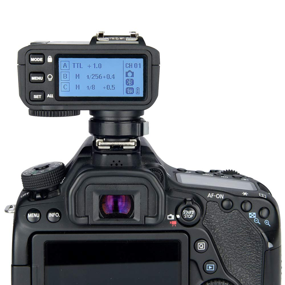 Godox X2T-C 2.4G Wireless Flash Trigger Transmitter for Canon with E-TTL II HSS 1/8000s Group Function LED Control Panel Firmware Update by Godox (Image #7)