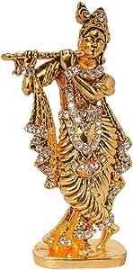 Odishabazaar Krishna God Idol for Car Dashboard/Home/Office Item