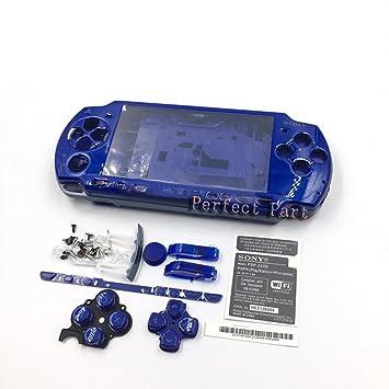 Carcasa Completa de Repuesto para Consola Sony PSP 2000 2001 ...