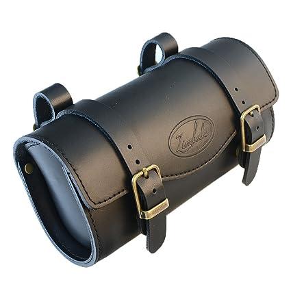 56695b2ebd8 Zimbale Bicycle Small Leather Saddle Tool Bag - 7.7 X 2.2 X 3.5 (inch)