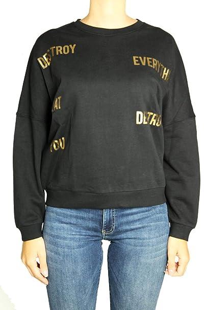 057be043d9bde4 Silvian Heach Felpa Cotone Donna XS: Amazon.it: Abbigliamento