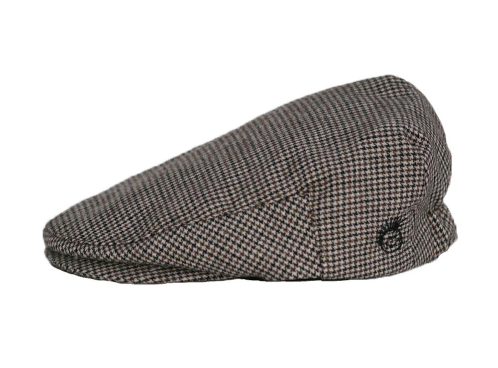 Born to Love Knuckleheads Driver Flat Caps (S/M 52 cm(2-3 yrs), Houndstooth)
