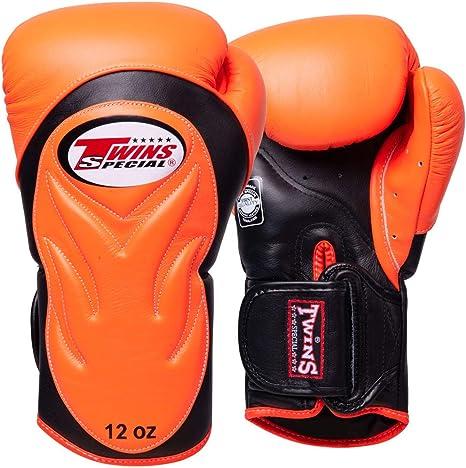 schwarz-wei/ß Boxing Gloves Premium Muay Thai Twins Boxhandschuhe BGVL-6
