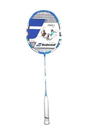 1c31b373d32 Babolat First I Badminton Racket - Blue  Amazon.co.uk  Sports   Outdoors