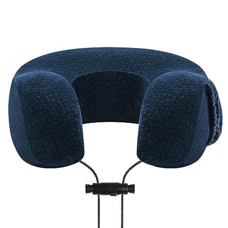LIUYU Almohada de viaje, diseño único, suave y confortable, almohada de espuma viscoelástica