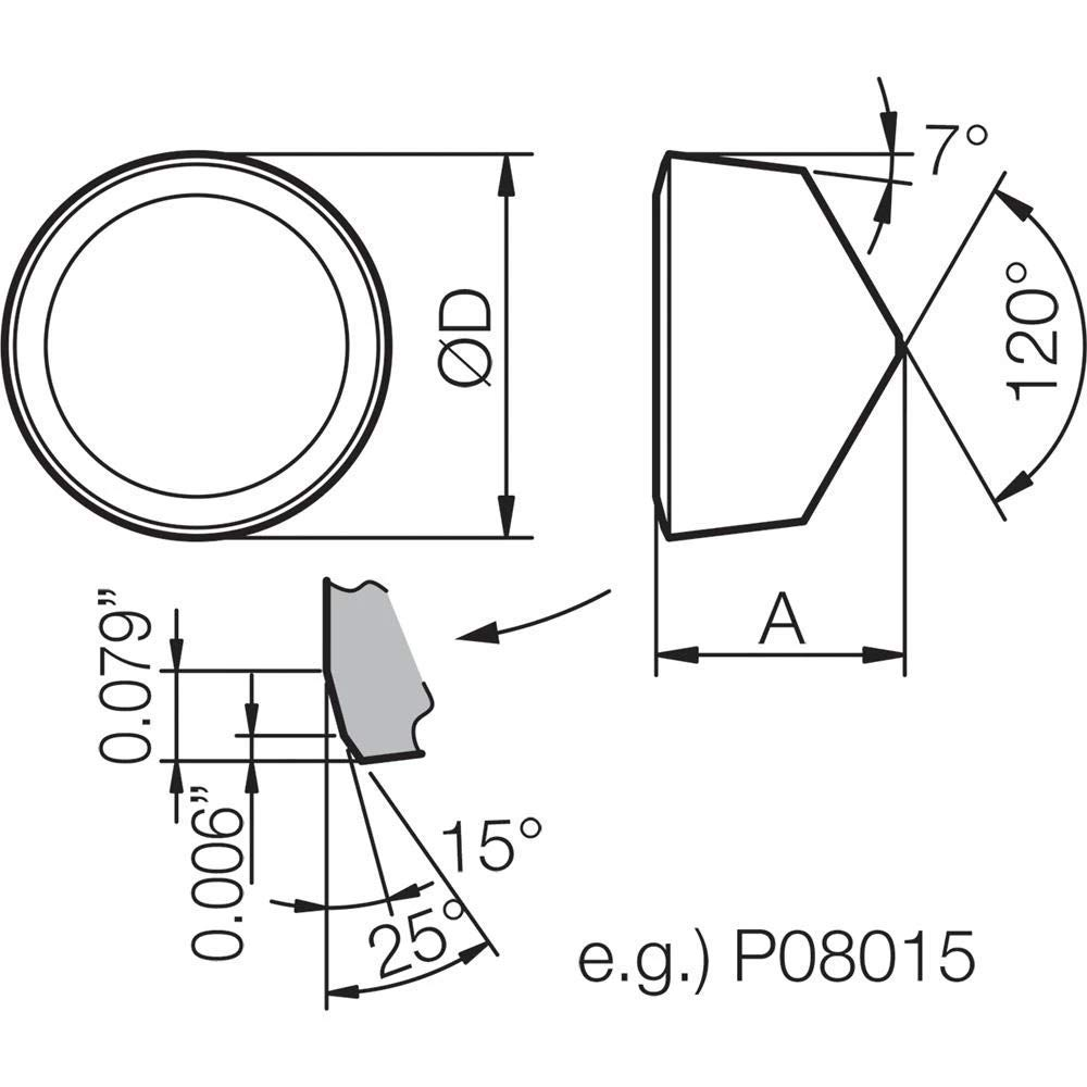 Round Turning Insert for Light Interruption in Heat-Resistant Alloy 10 pcs Kyocera RCGX 24T00420 KS6030 Grade Ceramic Positive Rake Angle