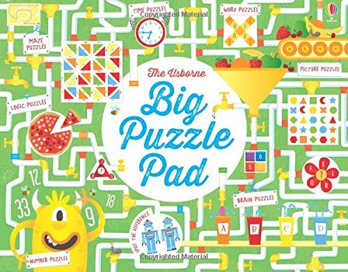 Big Puzzle Pad by Kirsteen Robson (2015-07-01)